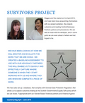 Survivors newsletter